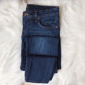 J Brand Jake Slim Boyfriend Jeans in Hotshot